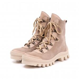 Ботинки женские Emi - 8300_беж