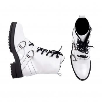 Ботинки женские EmiRomani 7567 бел