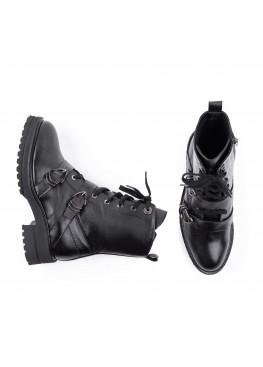 Ботинки женские EmiRomani 7567 черн
