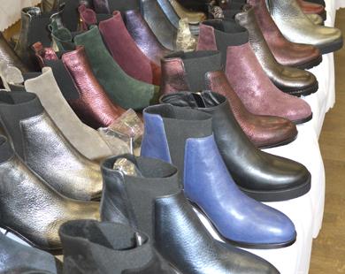 В Минске прошла оптовая выставка обуви от EmiRomani. Фоторепортаж.